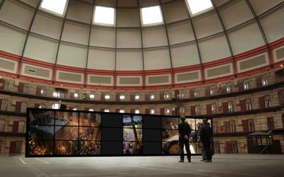 Help me bring a unique video-installation to life in the Dome-prison in Breda!