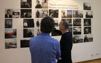Willem Poelstra Kosovo exhibition opens in Belgrade