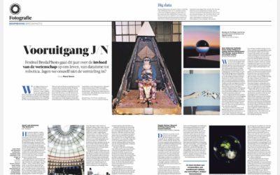 Dutch daily de Volkskrant recommends Forhanna productions at BredaPhoto